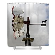 Windmill 9 Shower Curtain