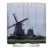 Windmill Shower Curtain