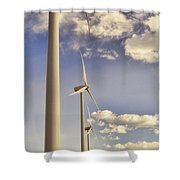 Windmill Ridge Shower Curtain
