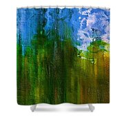 Windmills In My Mind Shower Curtain
