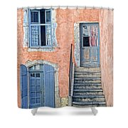 Window And Doors Provence France Shower Curtain