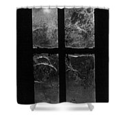Window At Castle Frankenstein Shower Curtain by Simon Marsden