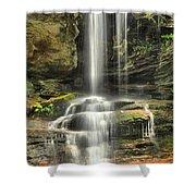 Window Falls Cascade Shower Curtain
