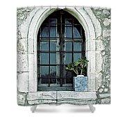Window Of A Chapel Shower Curtain