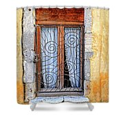 Window Provence France Shower Curtain