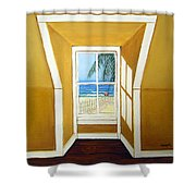 Window To The Sea No. 3 Shower Curtain