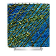 Windows And Reflections No.1058 Shower Curtain
