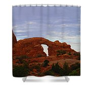 Windows Arch Shower Curtain