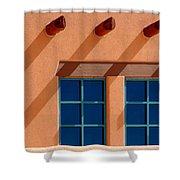 Windows Blue Shower Curtain