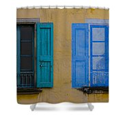 Windows Shower Curtain by Debra and Dave Vanderlaan