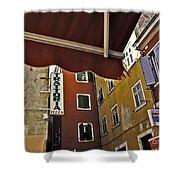 Windows In Venice Shower Curtain