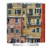Windows Of Camogli Shower Curtain