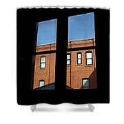windows of Grace Shower Curtain