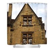 Windows Of Sarlat Shower Curtain
