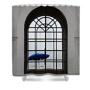 Windows On The Beach Shower Curtain