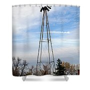 Winds Of Time Shower Curtain