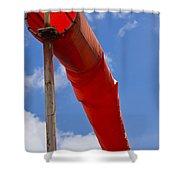 Windsock Shower Curtain