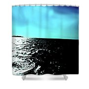Windsurfing Greece Shower Curtain
