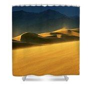 Death Valley Windswept 2 Shower Curtain