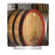 Wine Aging Shower Curtain
