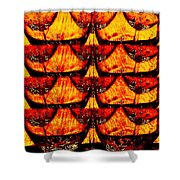 Wine And Dine 4 Shower Curtain