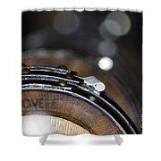 Wine Barrels In Oak Shower Curtain