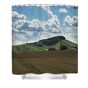 Wine Hills Of Germany Shower Curtain