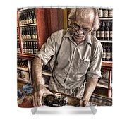 Wine I Know Was Made To Drink Shower Curtain by William Fields