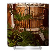 Wine Press Shower Curtain