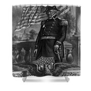 Winfield Scott, American Army General Shower Curtain