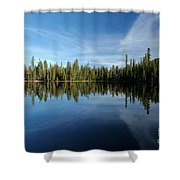 Wings In The Lake Shower Curtain