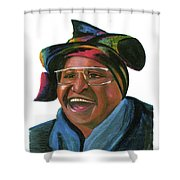 Winnie Madikizela Mandela Shower Curtain