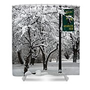 Winter 0003 Shower Curtain
