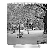 Winter 0004 Shower Curtain