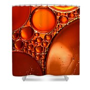 Winter Abstract Collection IIi Shower Curtain
