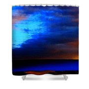 Winter Clouds In Spain Shower Curtain