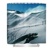 Winter In Austria Shower Curtain