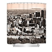 Winter In The City ... Shower Curtain