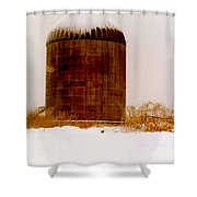 Winter Rust Shower Curtain