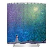 Winter Solitude 1 Shower Curtain
