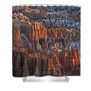 Winter View Of Bryce Canyon National Shower Curtain