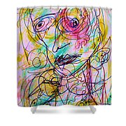 Wired For Joy Shower Curtain