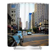 Wisconsin Avenue 2 Shower Curtain