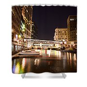 Wisconsin Avenue Shower Curtain