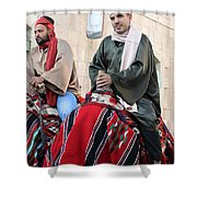 Wisemen On Their Camels Shower Curtain