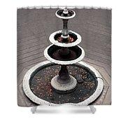 Wishing Fountain Shower Curtain