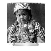 Wishram Girl 1909 Shower Curtain