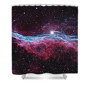Witchs Broom Nebula Shower Curtain