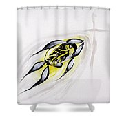 With A Pure Heart Shower Curtain