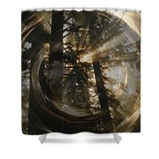 Within Whorls Of Beauty Shower Curtain